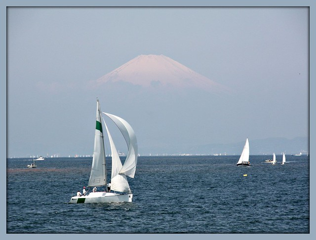 """""""One gust of wind leads to another while  sailing."""""""