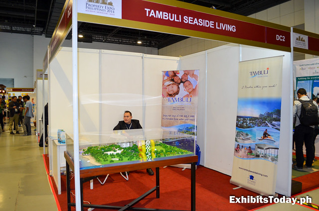 Tambuli Seaside Living Exhibit Stand