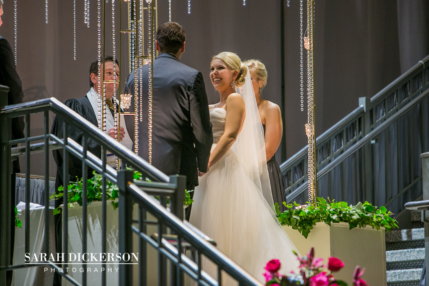 Town Pavilion wedding Kansas City