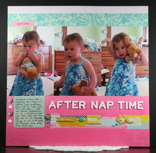 After Nap Time Scrapbook Layout | shirley shirley bo birley Blog