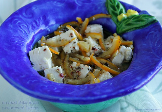 Spiced Feta with Preserved Lemon 1