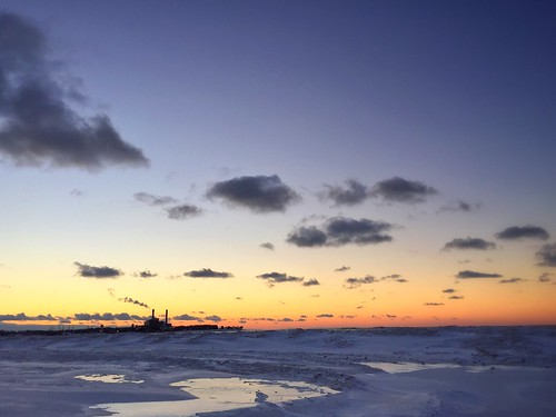 winter sunset snow cold frozen lakeerie dunkirk westernnewyork westernny