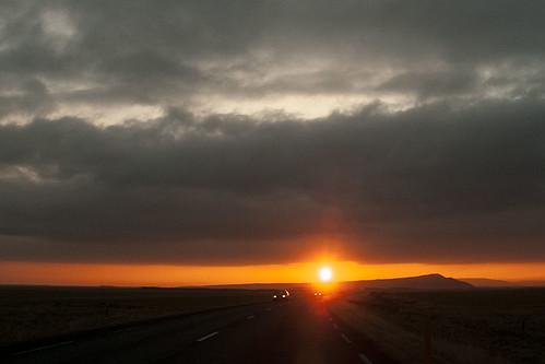 sunset clouds iceland nikon goldencircle d300 andersmagnusson