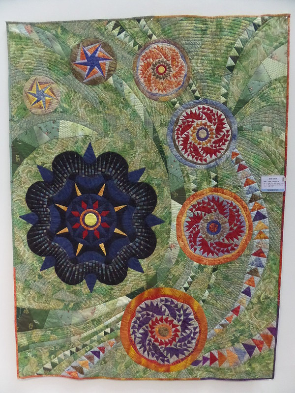 The Voyage and the Typhoon quilt by Lee Geum Ja