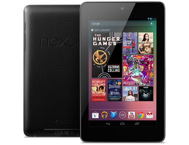 Nexus 7 sản phẩm tablet tốt cho người dùng - 57492