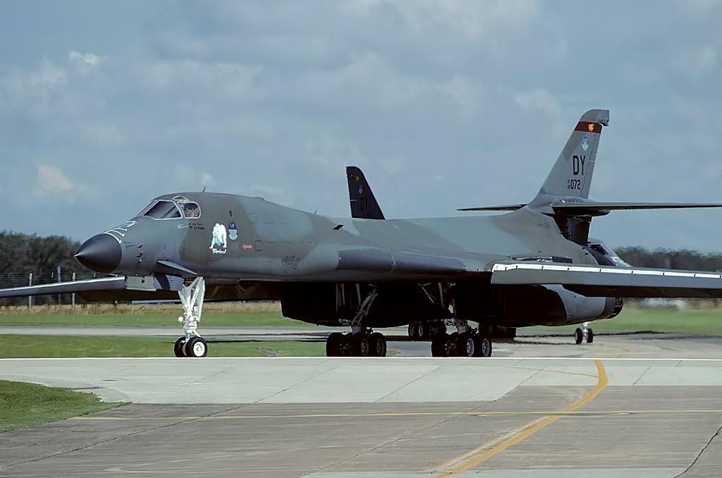 85-0072/DY B-1B 7th BW, Dyess AFB, RAF Alconbury 23-08-93