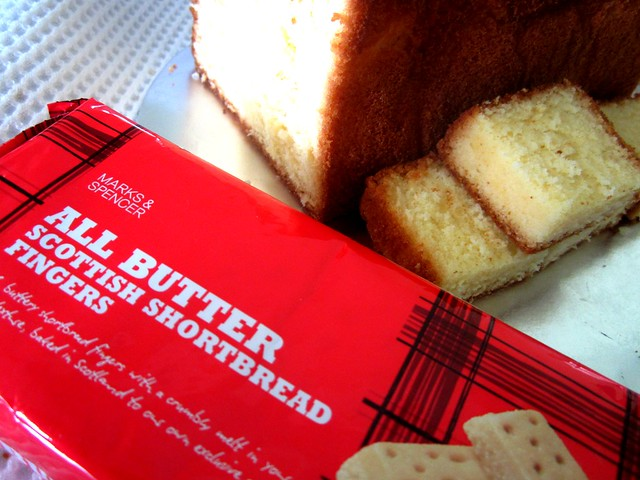Butter cake & Scottish shortbread from Richard