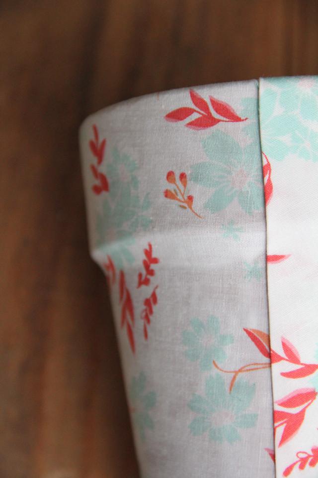 DIY Fabric Covered Terra Cotta Pots 4