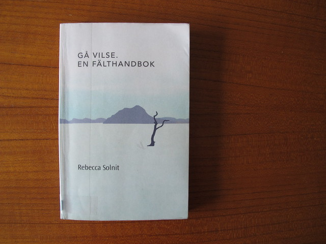 gå vilse: en fälthandbok av rebecca solnit