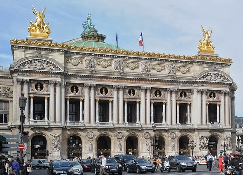 Palais Garnier -- the Paris opera house