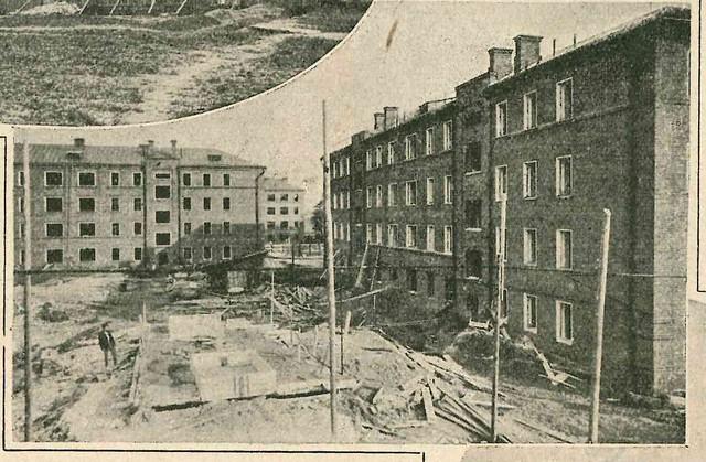 Строительство жилого дома на ул. Усачева. Строительство Москвы, #7-1927