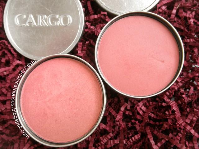 Pantone Marsala Blushes Cargo Cosmetics