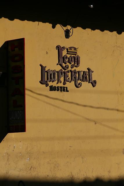Imperial Hostel.  Leon, Nicaragua.