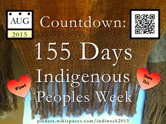 Countdown: 155 Days until Indigenous Peoples Week #ipw5