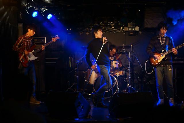 中野バンド live at Outbreak, Tokyo, 17 Jan 2015. 003