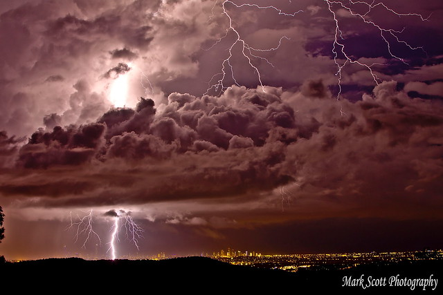 goldcoast storm 19th jan 2015 evening