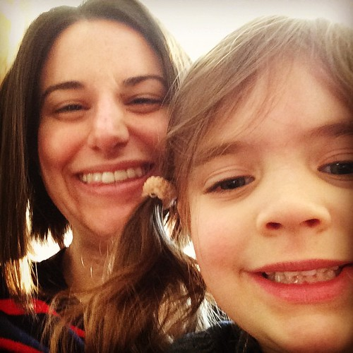 And today I taught Abby the art of the selfie my work here is done.