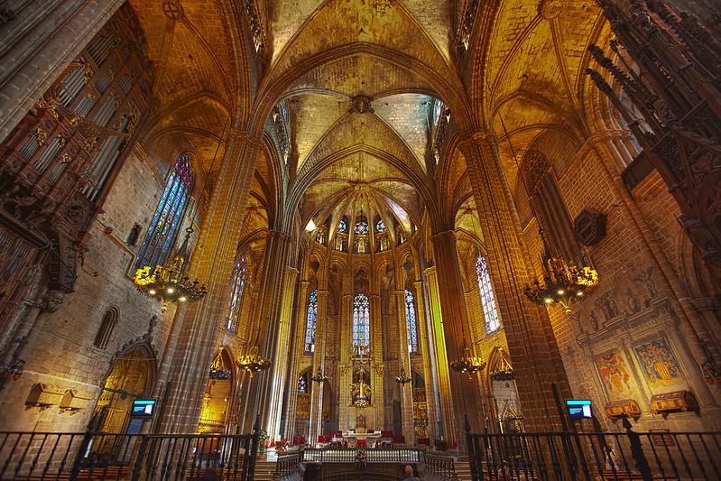 La Catedral wide view