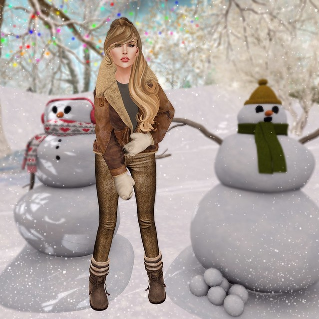 Snowman love