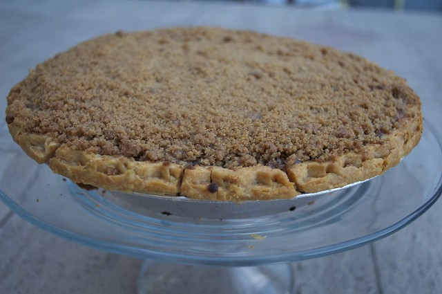 Sweet Potato Pie with Streusel Topping
