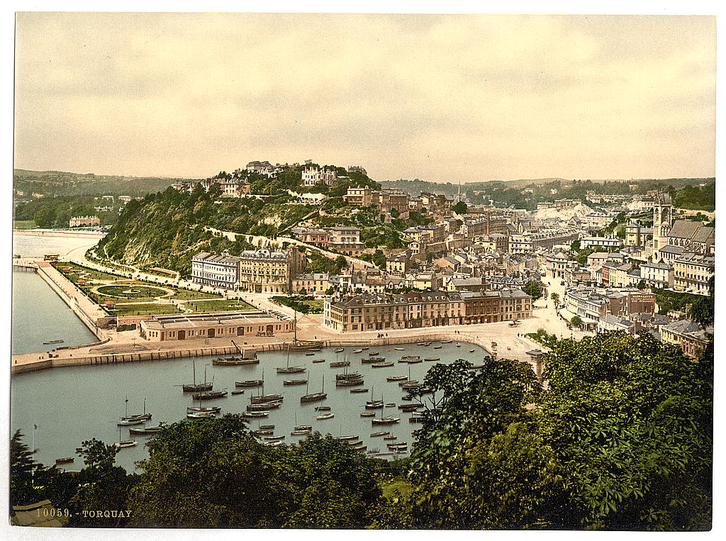 [From the hill, Torquay, England] (LOC)