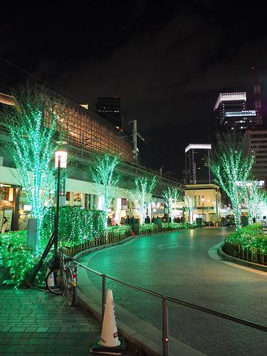 東京交通会館 ウィンターイルミネーション2014
