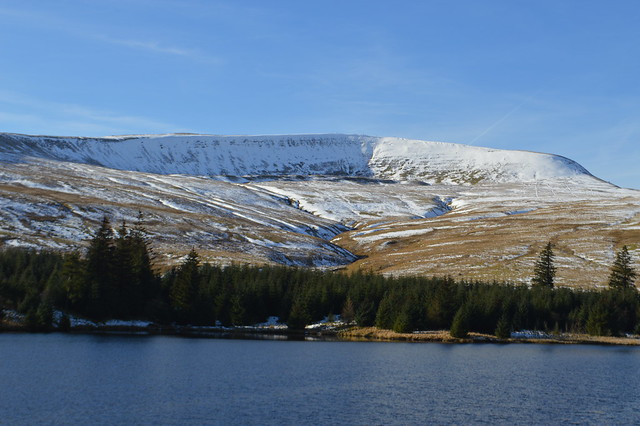 Photo of the Brecon Beacons in Wales