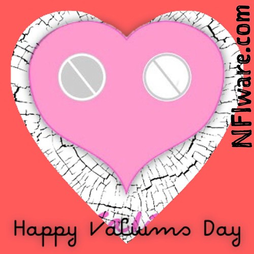 Happy Valiums Day (revisited) Just remain calm everyone  #NFIware #valentinesday #valentines #valium #valiumsday