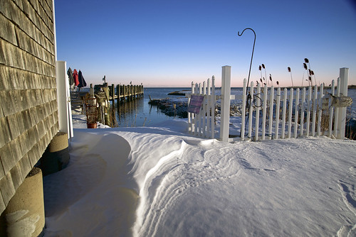 ocean blue winter sea usa snow cold beach port landscape outside coast harbor photo seaside interesting nikon flickr waterfront image shots outdoor snowy connecticut country shoreline picture newengland ct diner places scene shore wharf lobster scenes lobsterpound gundersen longislandsound guilford conn whitfieldstreet towndock nikoncamera d600 lisound nikond600 connecticutscenes bobgundersen robertgundersen