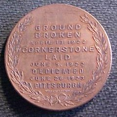 Odd Fellows Home token Pittsburgh reverse