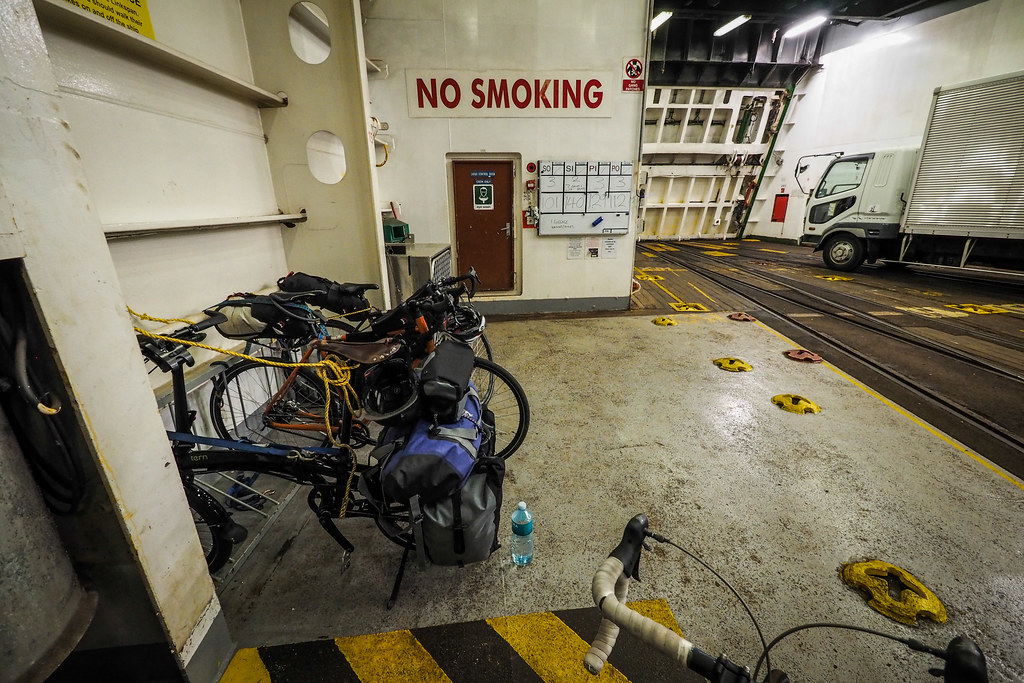Bicycles on the InterIslander Ferry, New Zealand