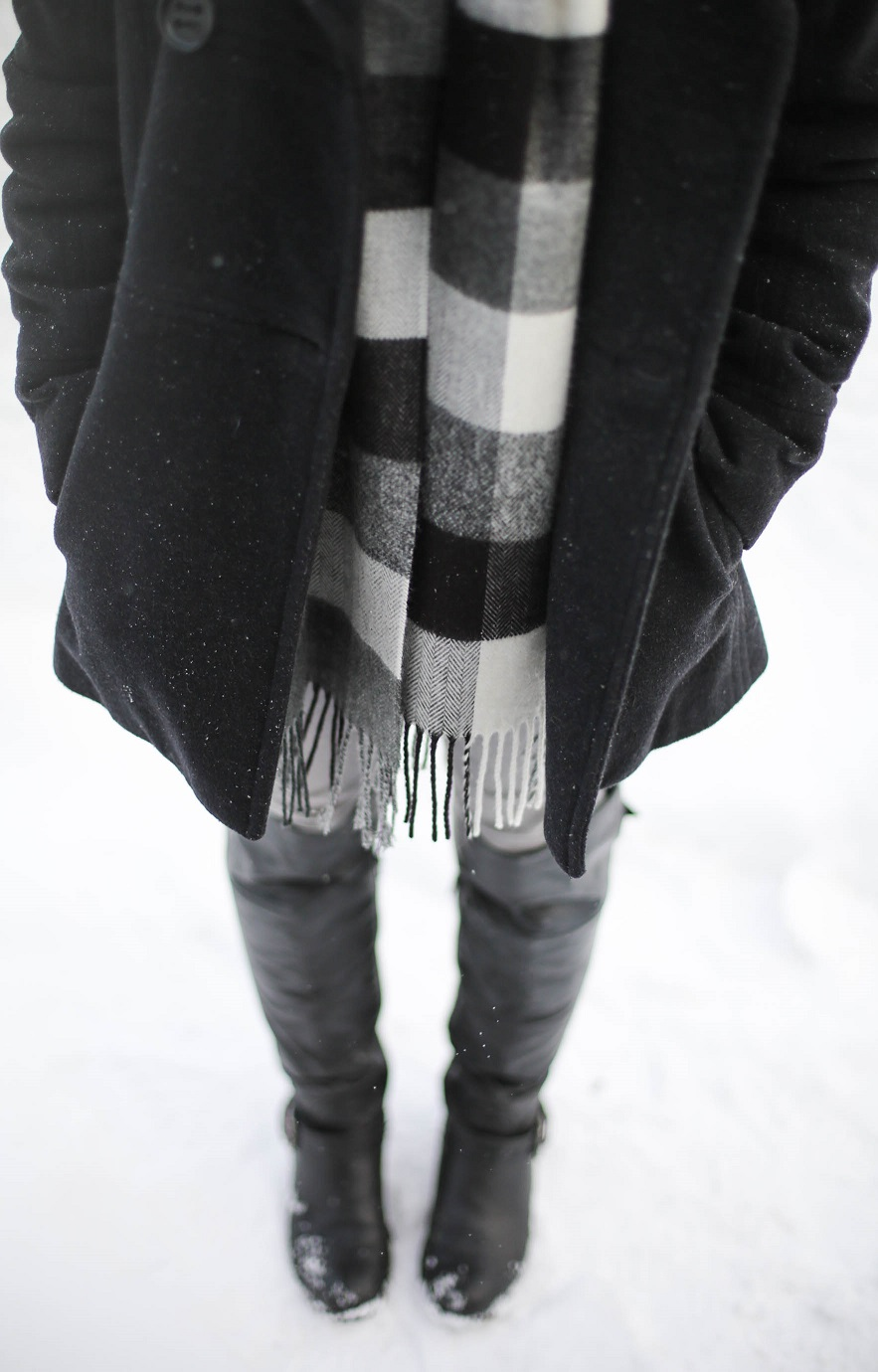 austin style blogger, casual winter look ideas, forever 21 beanie, plaid scarf, H&M grey denim jeans, austin texas style blogger, austin fashion blogger, austin texas fashion blog