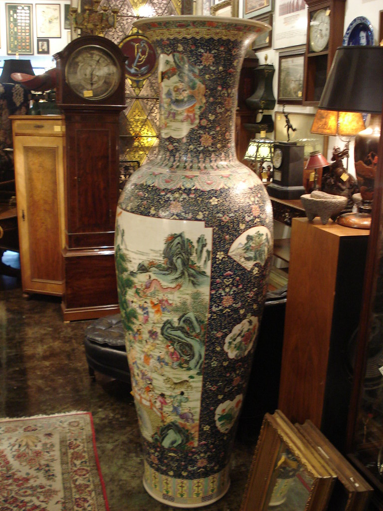 Pan asian pacific art stupendously large chinese famille 100 boys palace vase a stylefont reviewsmspy