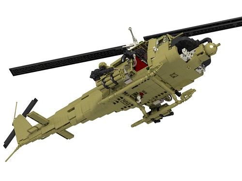 UH-1C Huey Hog front lower right
