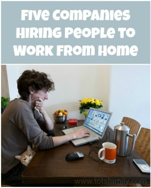 Companies to Work from Home