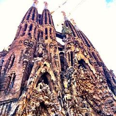 Sagrada Familia, the Nativity facade :heart_eyes: