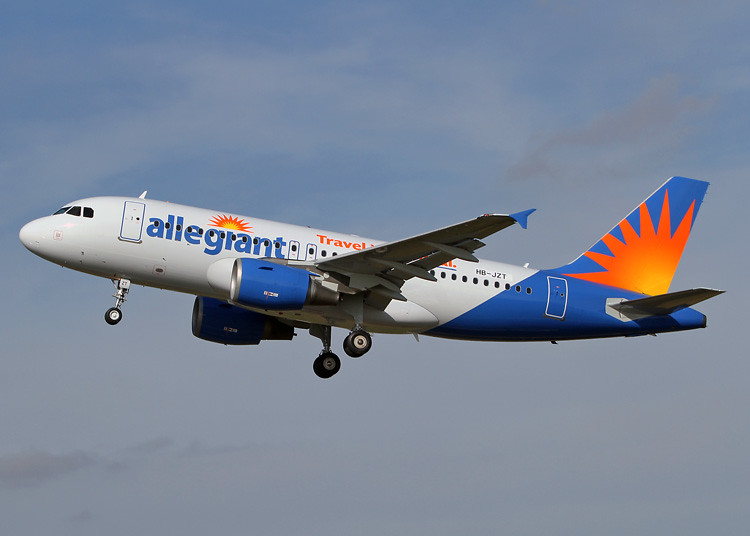 HB-JZT Airbus A319-111 Allegiant Air