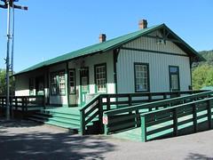 Foster Falls Railroad Station