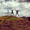 #JumpingJacks on #MangereMountain #Auckland #extinct #volcano