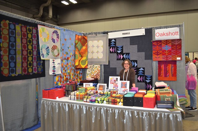 Pinwheels Booth at QuiltCon 2015