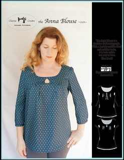 Anna.Blouse Pattern