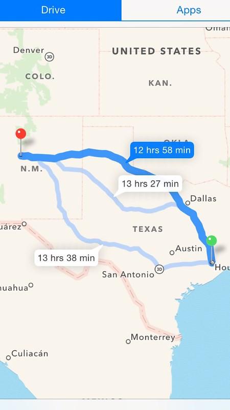 Houston to Albuquerque