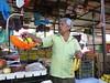 Buying bananas in Cuautla