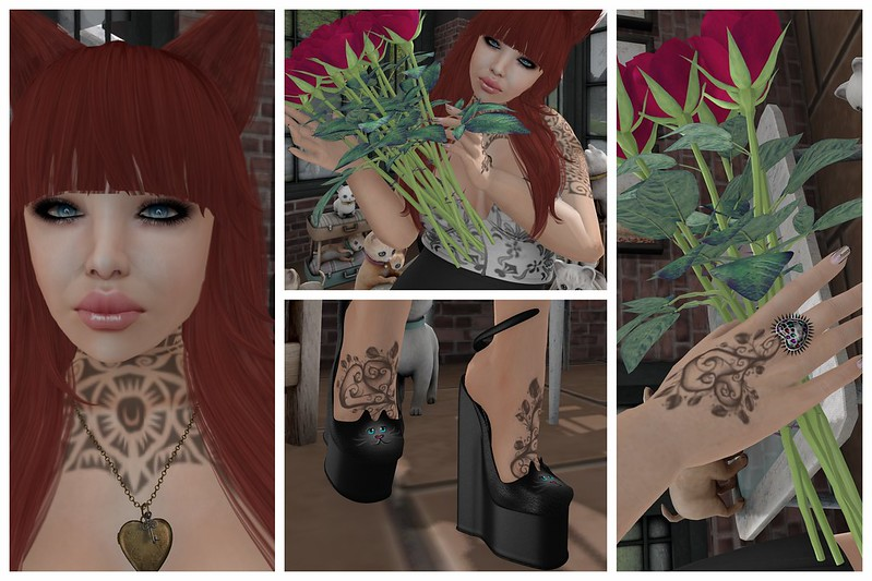 7DS, 7 Deadly Skins, 7 Deadly s{K}ins, Koketka, Ikon, Pink Hustler, PH, LB, LaBoheme, La Boheme, EA Studio, Eclipse Arts, PMS, Pimp My Shit,  FLRN, P3, Izzy <3 Mesh Templates,  Yummy, Gothico, Goth1c0, IOS, Icons of Style, Designer Circle, DC,  Trompe Loeil, Ionic, Second Life, Momma's Style, JenJen Sommerfleck