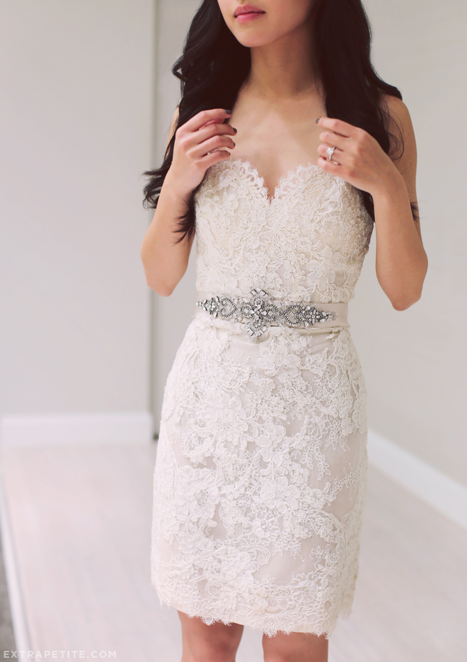 convertible tara keely lace dres