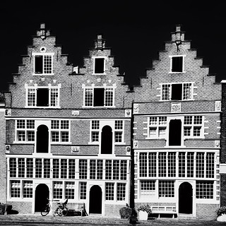 Old buildings remain... #iphoneography #netherlands #iphone5s #hoorn #igersholland #jj_sombre #blackandwhiteisworththefight #ig_artistry #ampt_community #the_iphone_arts #bnw_life #insta_pick_bw #bws_worldwide #bw #bw_scenes #myskynow #myskynow_bw #ig_mas