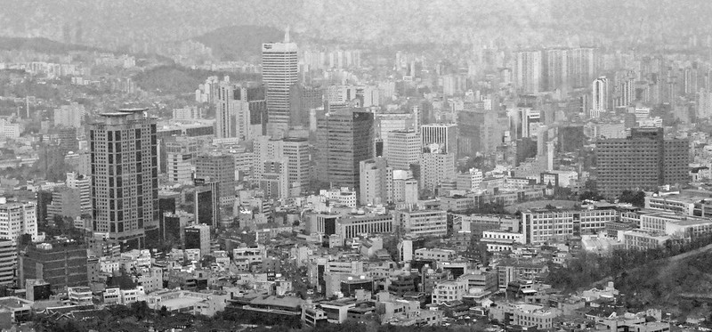 View from Namsan Tower, Seoul