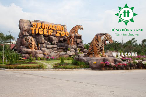tiger zoo thailand