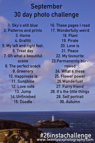 26 instagram challenge