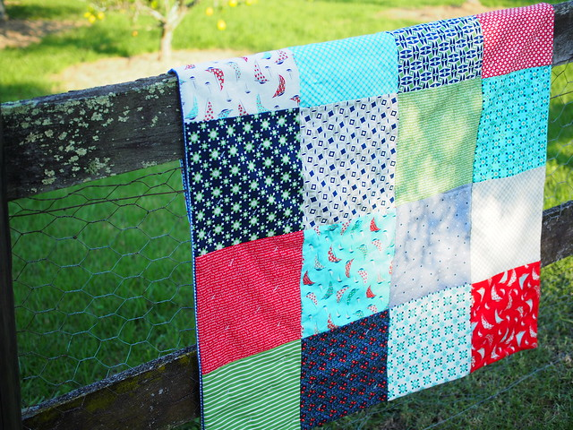 Making An Easy Baby Blanket